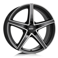 Литые диски Alutec Raptr 7,5x18 5/120 ET45 d-72,6 Racing Black Front Polished (RR75845W33-5)