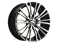 литые диски MSW 20-5 Matt Black Full Polished