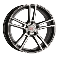 литые диски 1000 MIGLIA MM1002 Dark Anthracite Polished