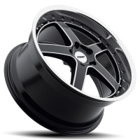 литые диски TSW Carthage Gloss Black Mirror Lip Milled Spokes